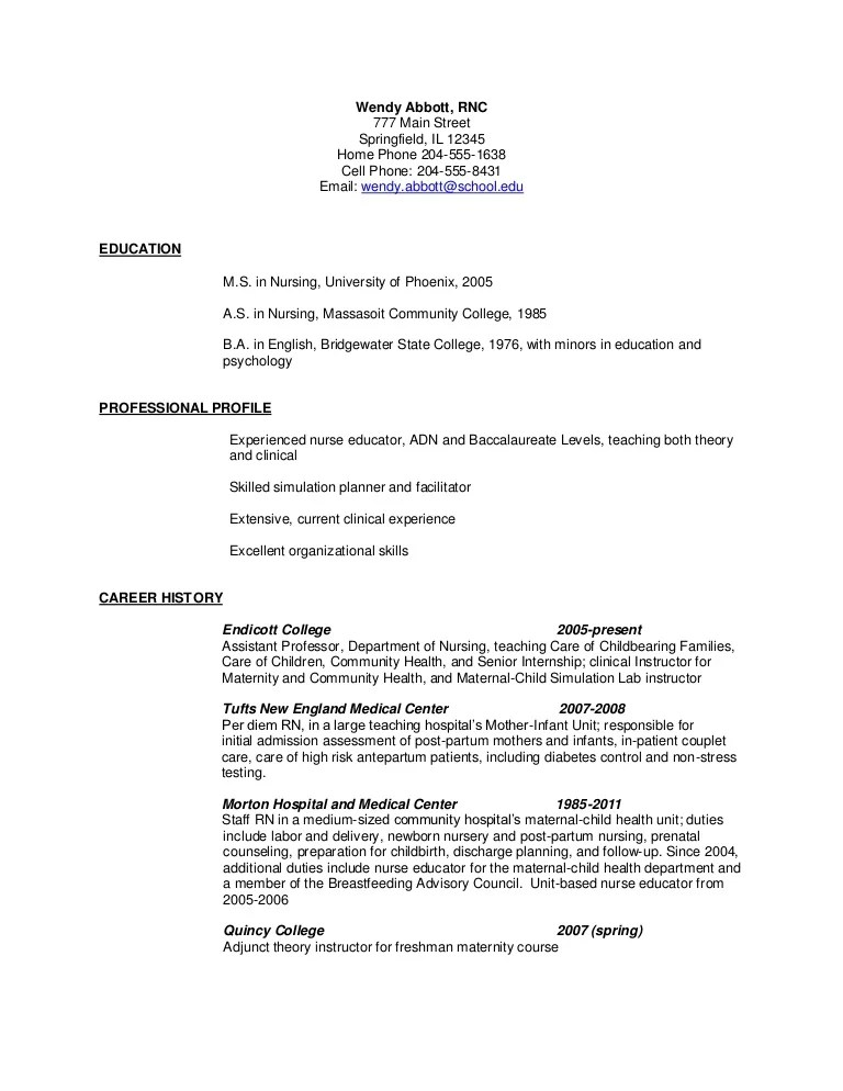 labor and delivery nurse resume sample - Funfpandroid