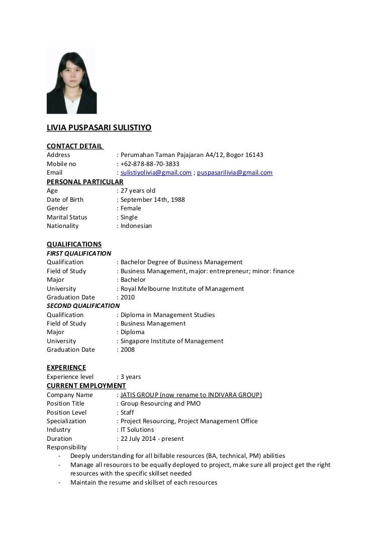 resume samples pdf simple