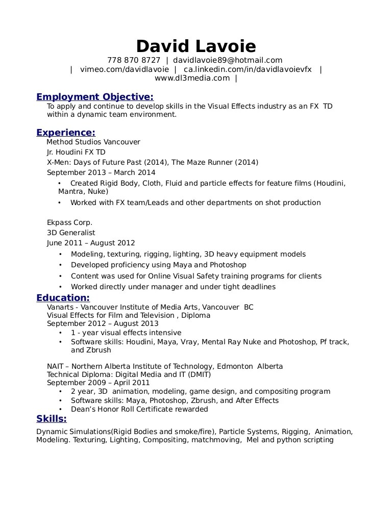 3d resumes - Intoanysearch
