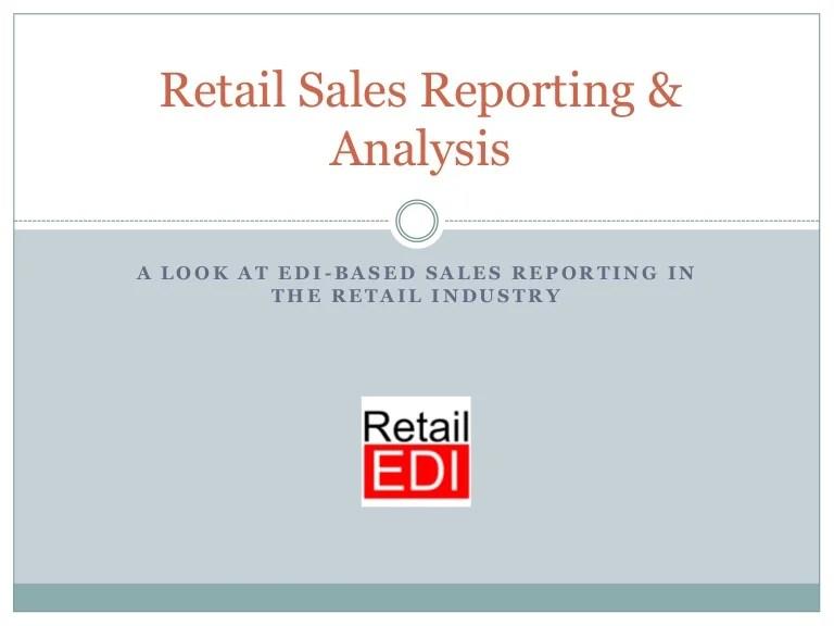 sales analysis report sample - Onwebioinnovate - sample sales report