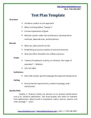 Agile Test Plan Template Choice Image - Template Design Ideas - sample test plan