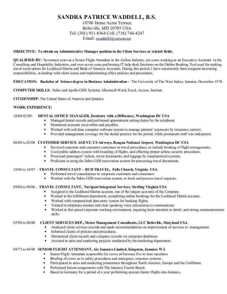 resume objective for flight attendant - Baskanidai - resume flight attendant