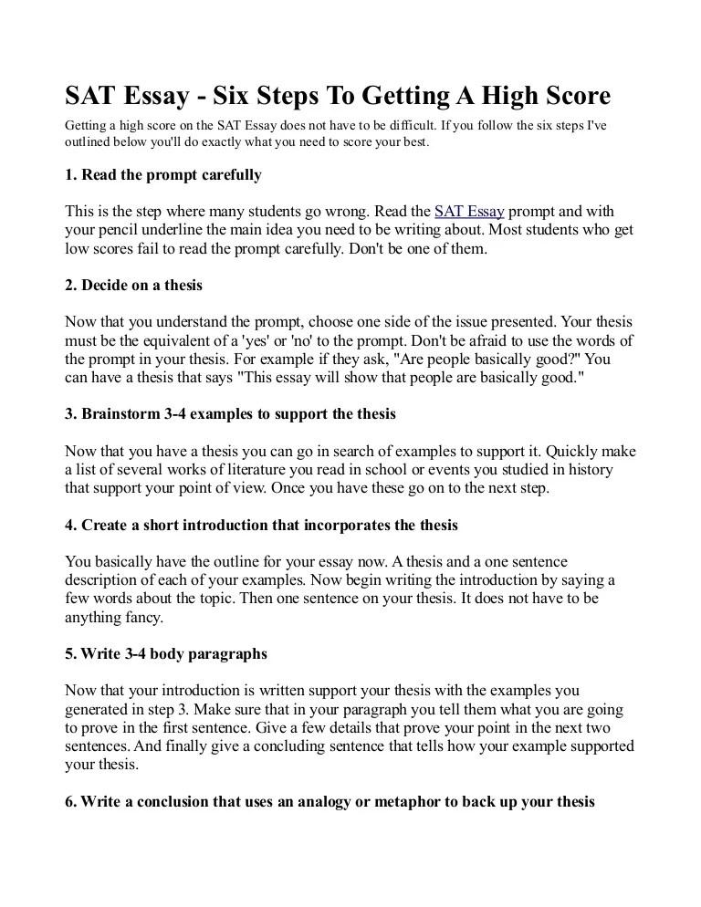 sat example essays - Towerssconstruction