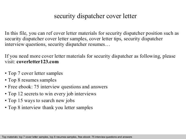 cover letter for dispatcher - Muckgreenidesign - resume for dispatcher
