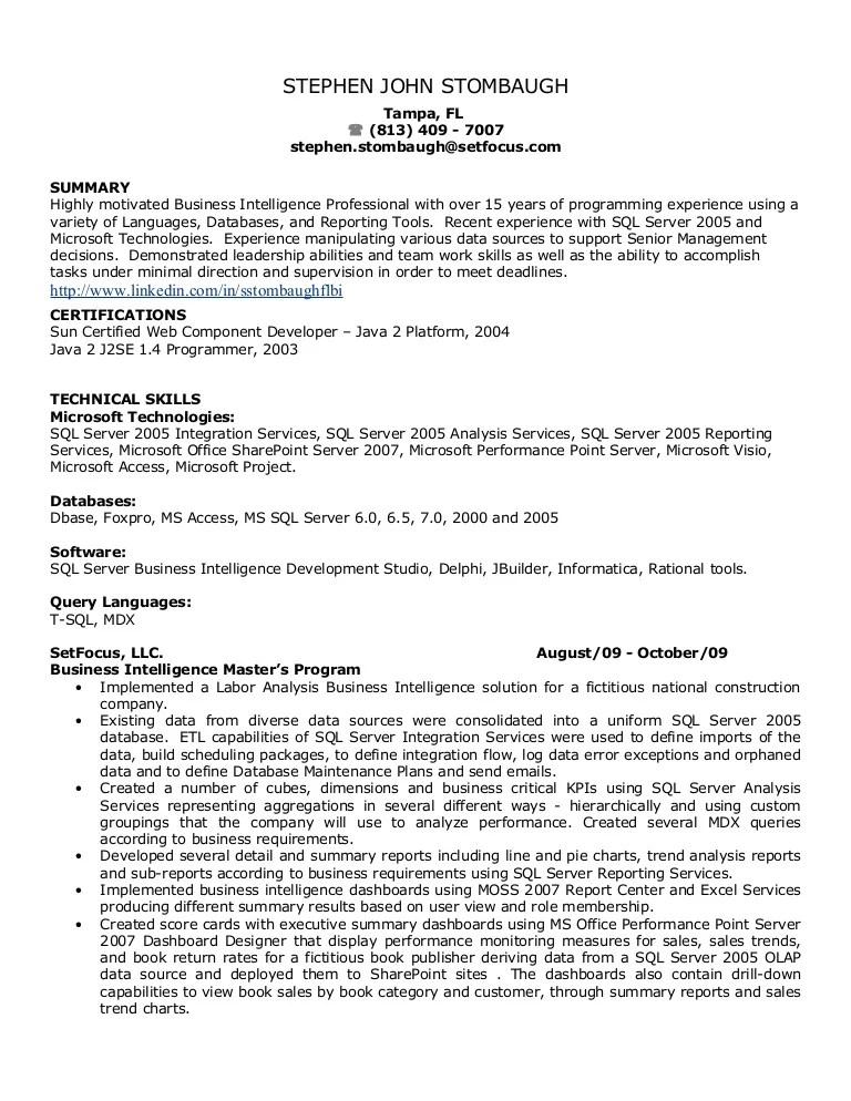 ms access developer resume - Alannoscrapleftbehind - sharepoint developer resume