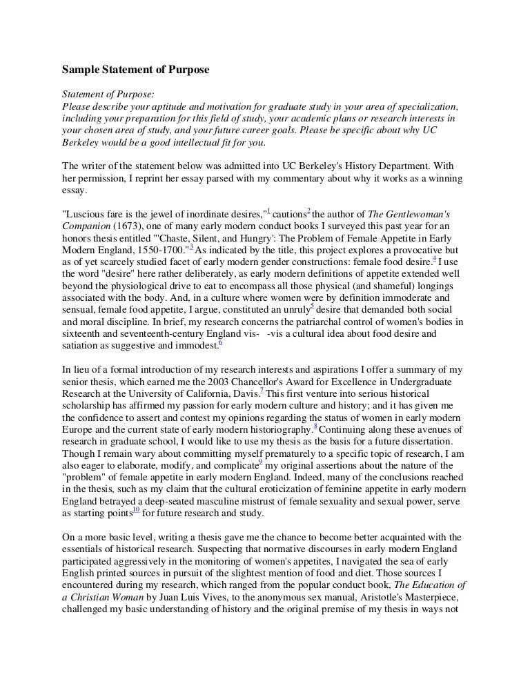 sample statement of purpose for mba program