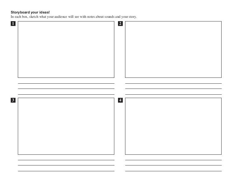 website storyboard template - Towerssconstruction