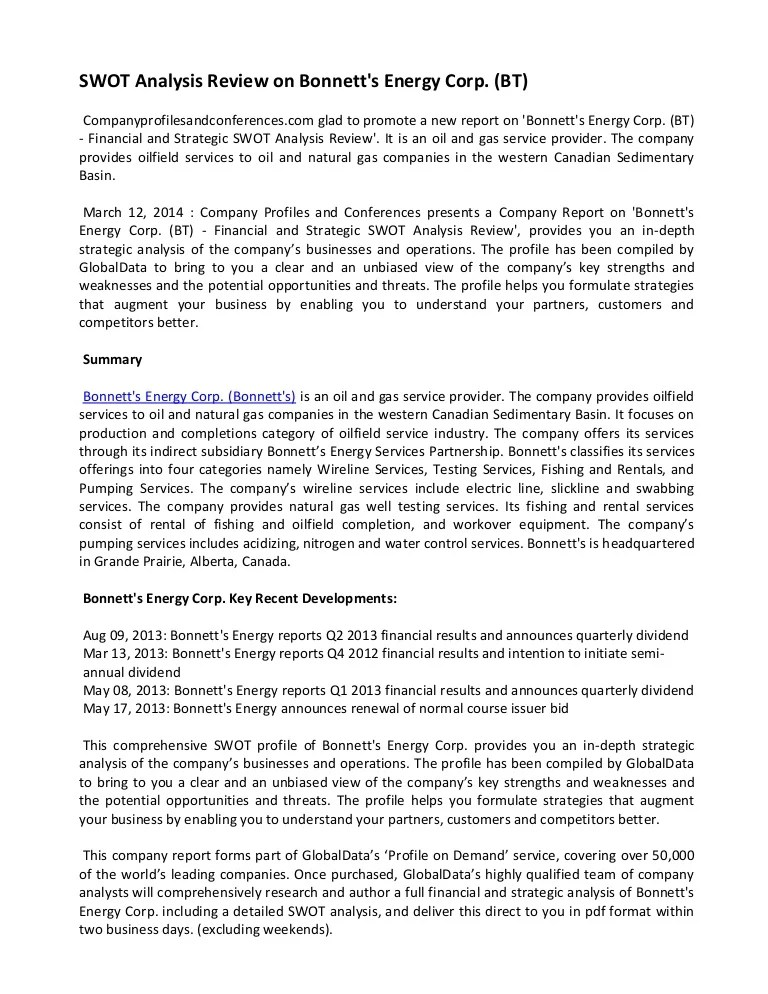 incident report case study - Onwebioinnovate - strategic analysis report