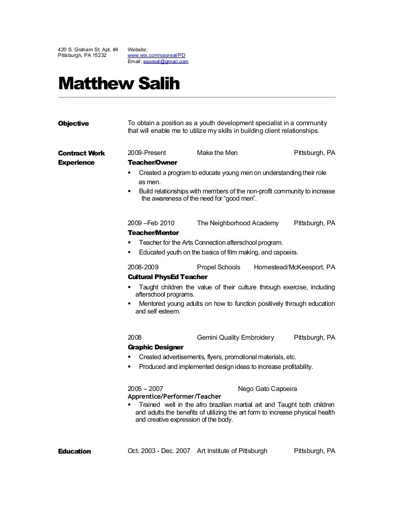 Dance Audition Resume Template Biology Teacher Student Format - dance resume templates