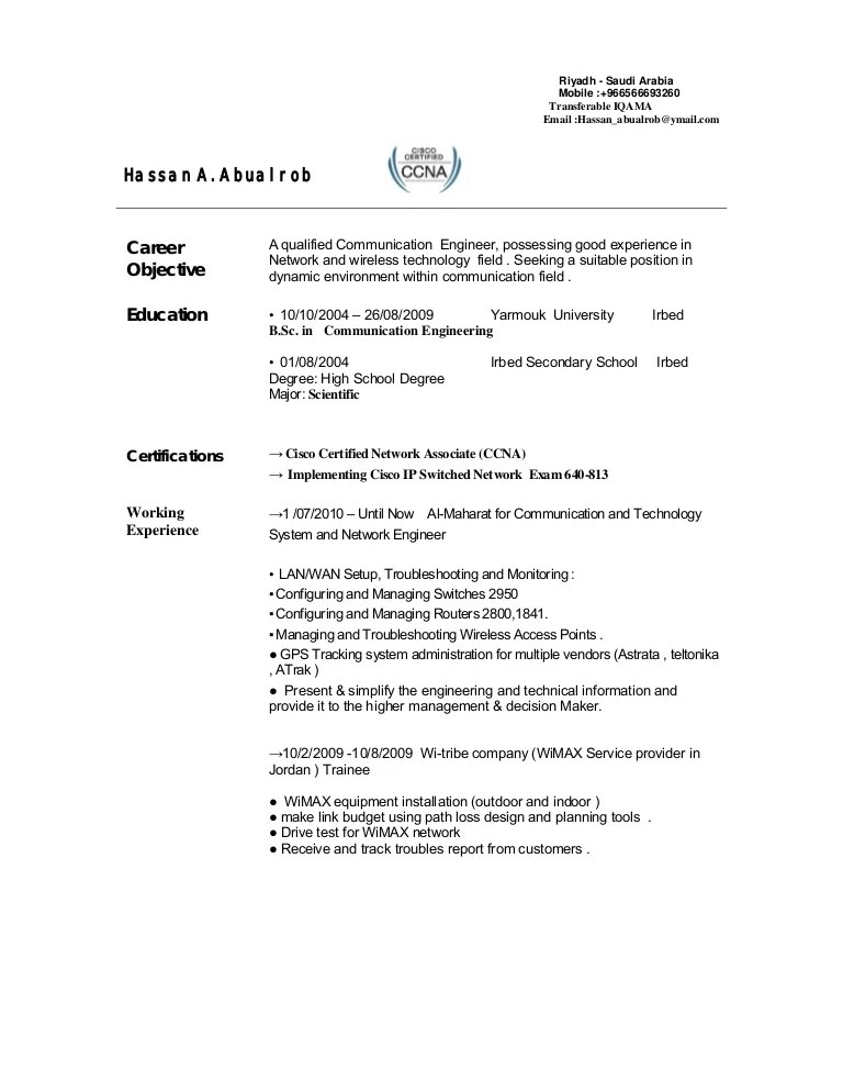 telecommunication resume samples - Onwebioinnovate - telecom analyst sample resume