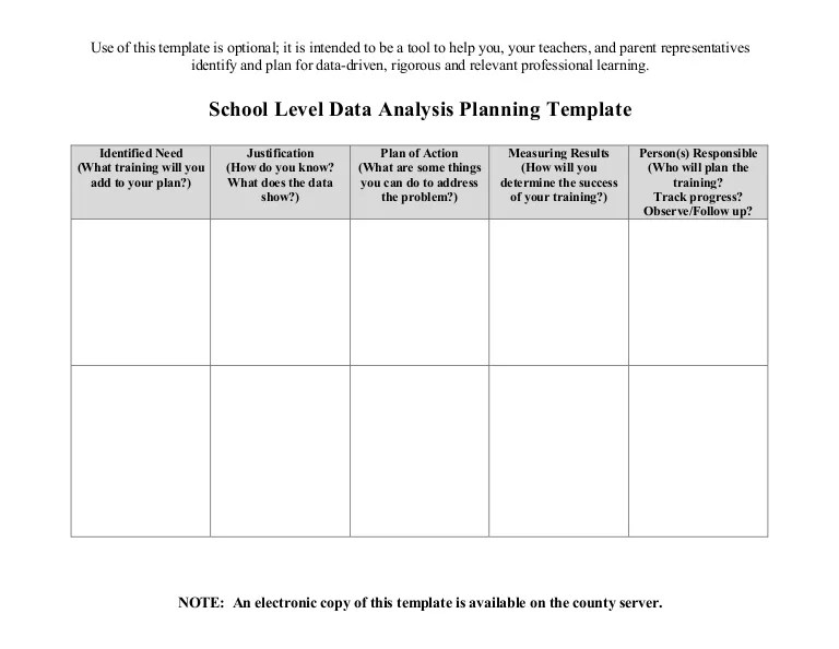 data analysis template - Onwebioinnovate