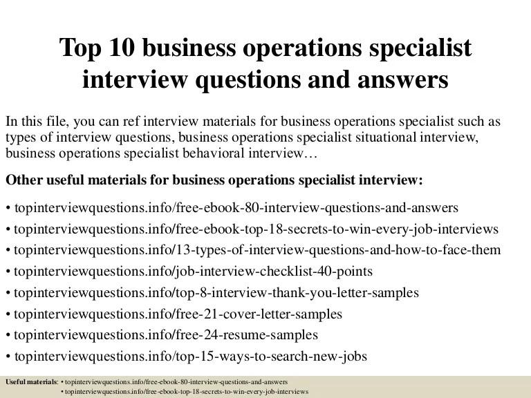 business operations specialist job description - Onwebioinnovate - aviation operations specialist sample resume