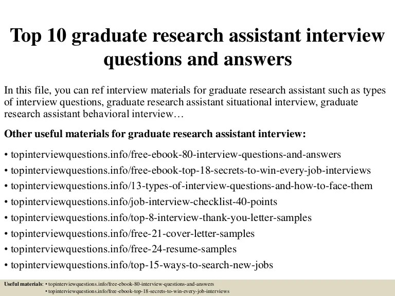 graduate research assistant cover letter - Onwebioinnovate
