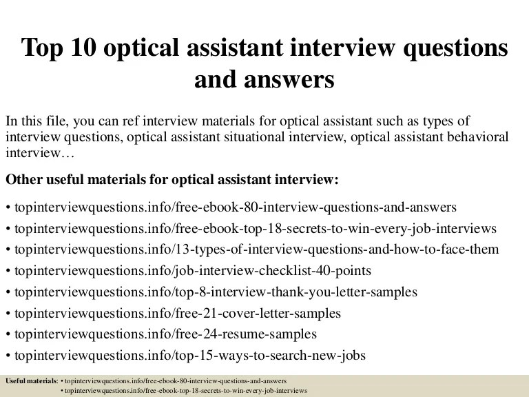 optical assistant cover letters - Solidgraphikworks - optician assistant sample resume