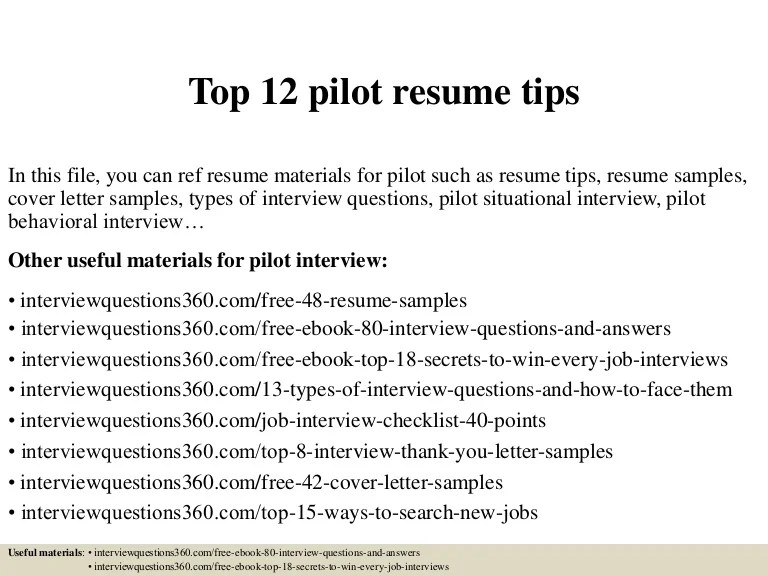 sample airline pilot resume - Josemulinohouse - airline pilot resume