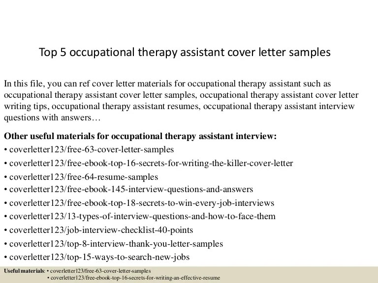 occupational therapy letter of recommendation example - Maggi