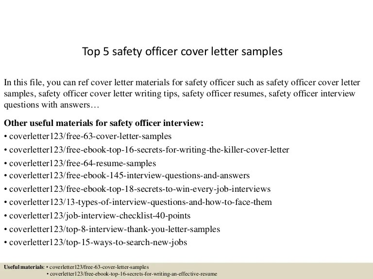 police officer resume cover letter samples
