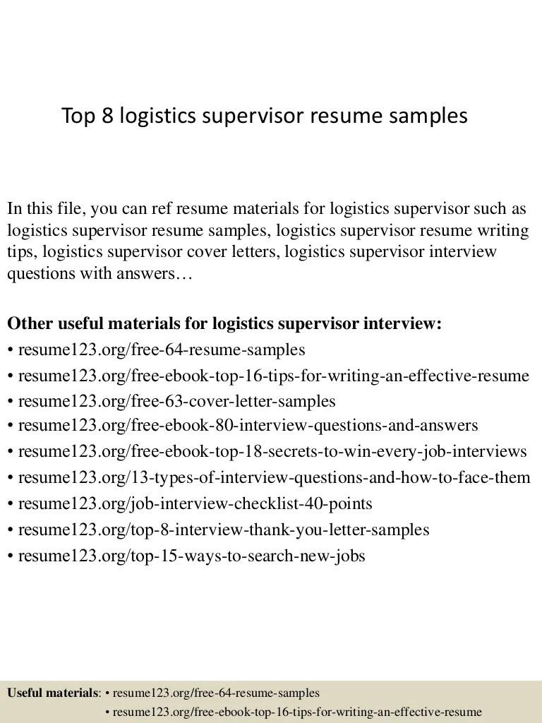 special education supervisor resume sample