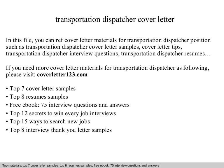dispatcher cover letter examples - Goalgoodwinmetals - dispatch clerk sample resume