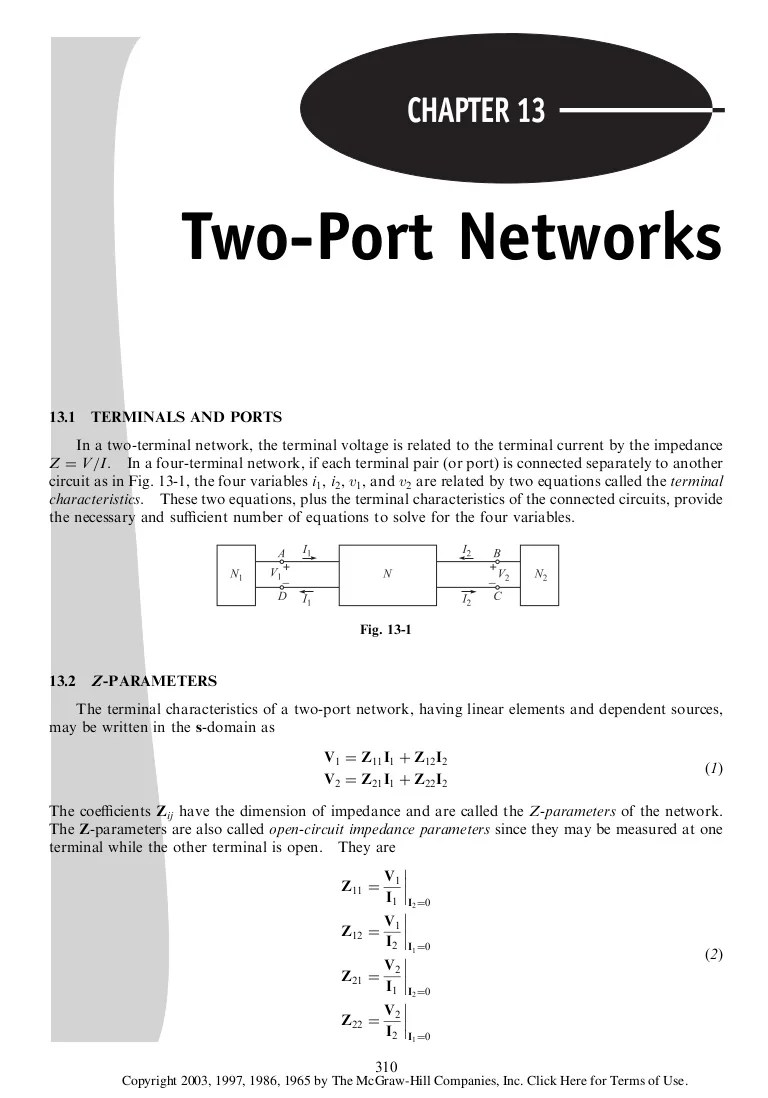 Port Network Two Ports