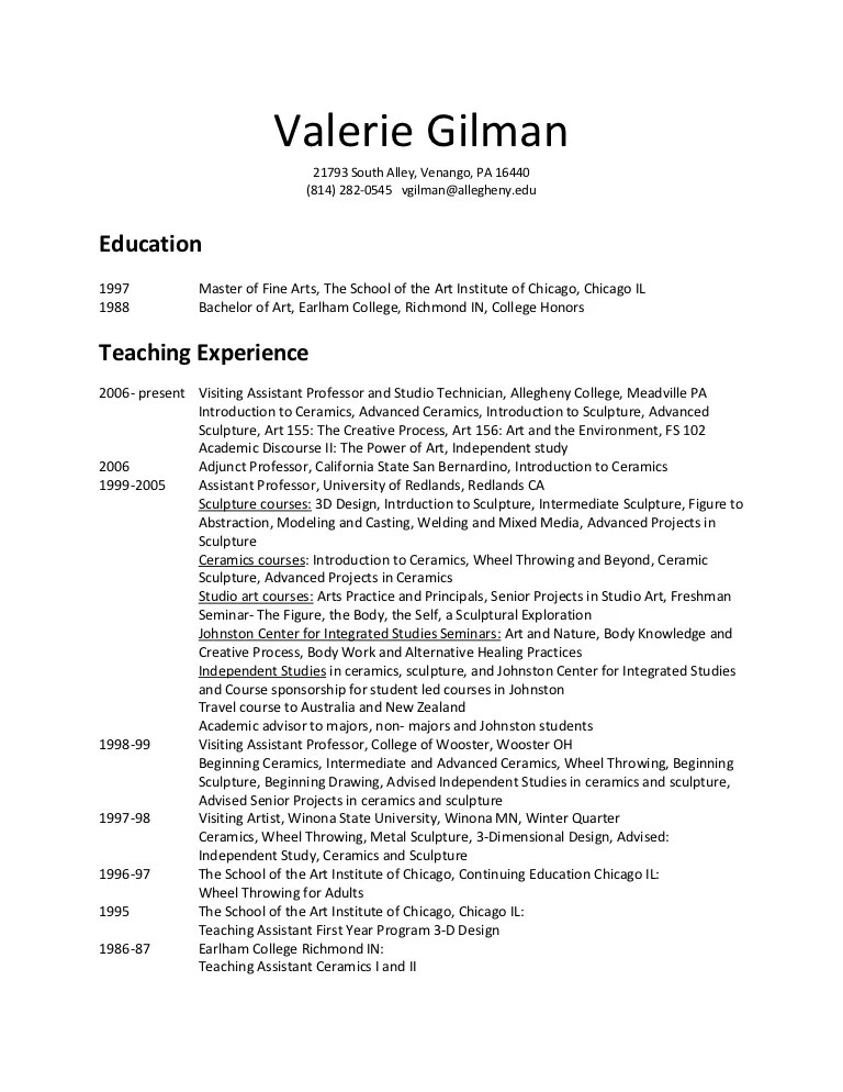 college teaching assistant resume - Ozilalmanoof