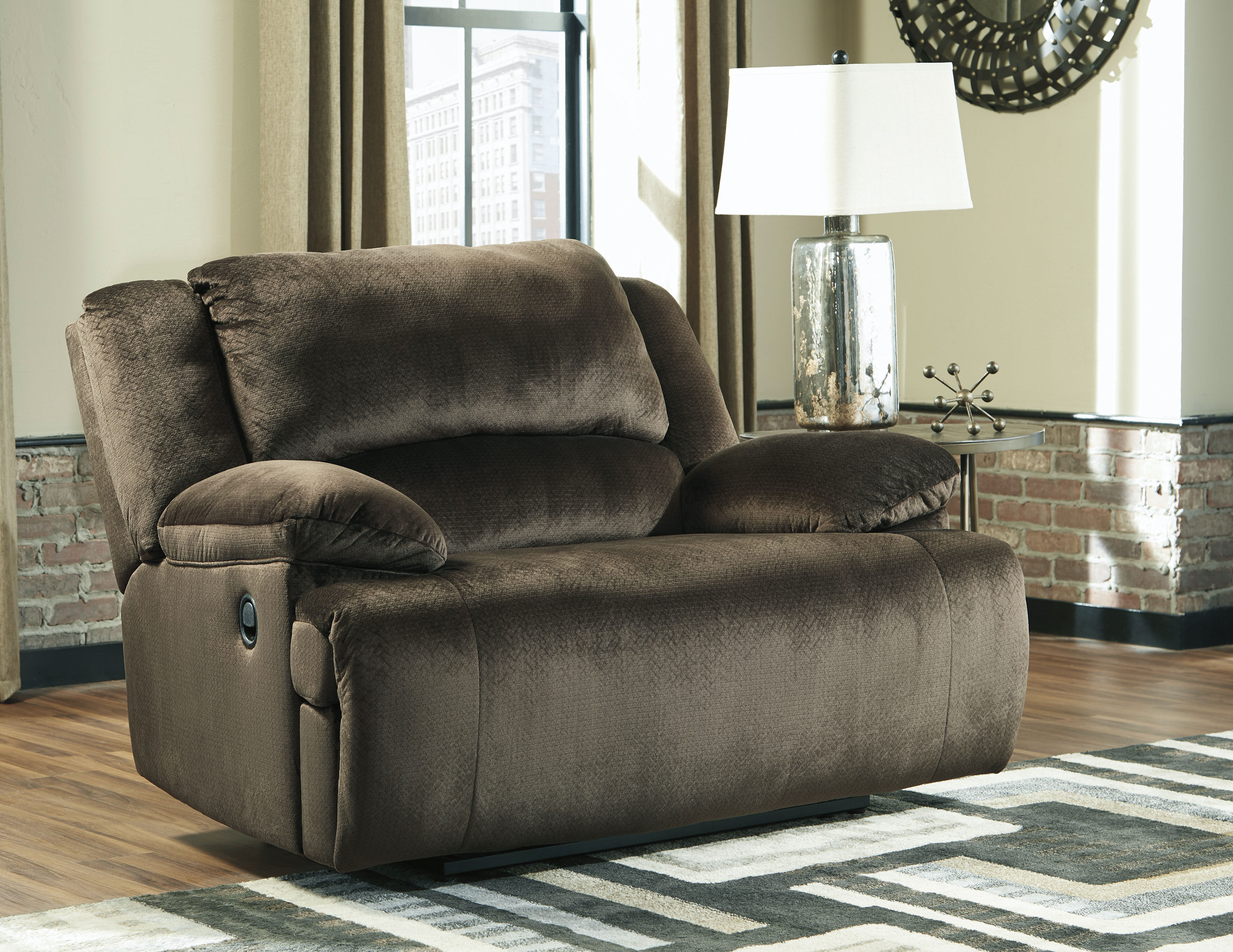 Clonmel Extra Wide Zero Wall Power Recliner In Sofas And Sectionals - Extra Wide Couch