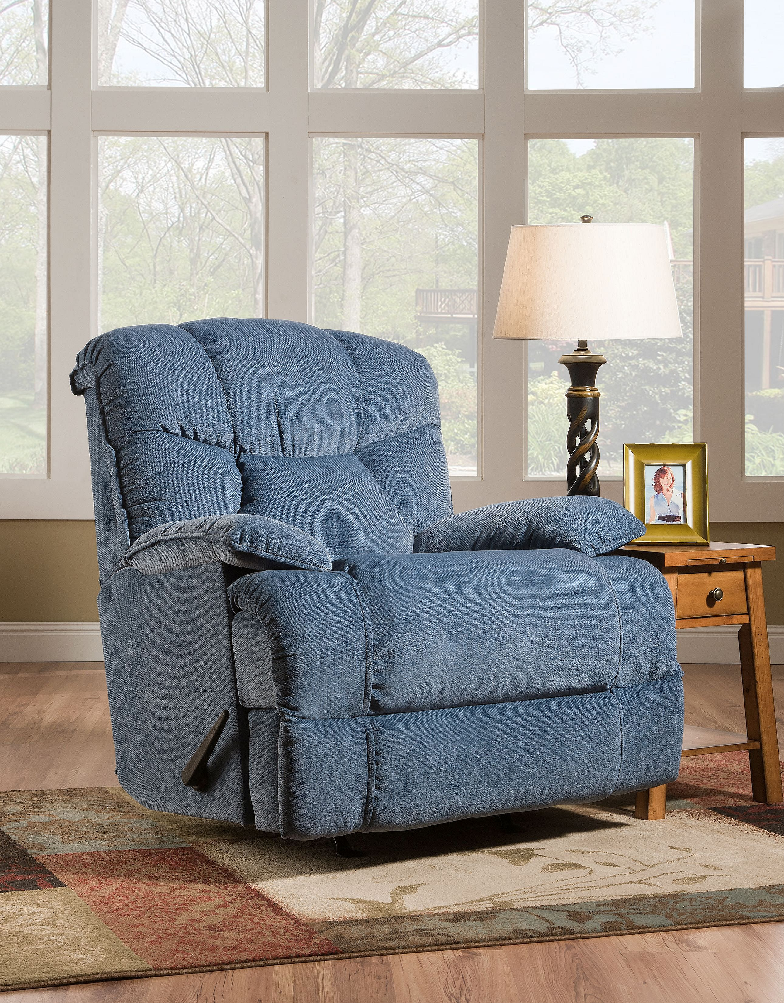 Interio Sofa Harrison Luck Glider Recliner 413 95 Sofas And Sectionals