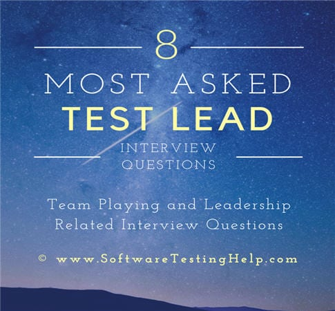 How to Answer Team Playing and Leadership Related Interview - interview questions for team leader