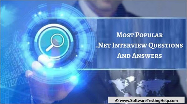 Top 20 NET Interview Questions and Answers