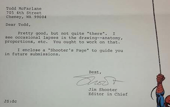 11 rejection letters sent to famous people that will keep your