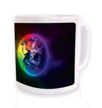 Colourful Planet Earth mug - Somethinggeeky