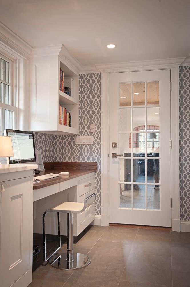 functional kitchen desk designs sortra rental friendly kitchen update wallpaper cabinets