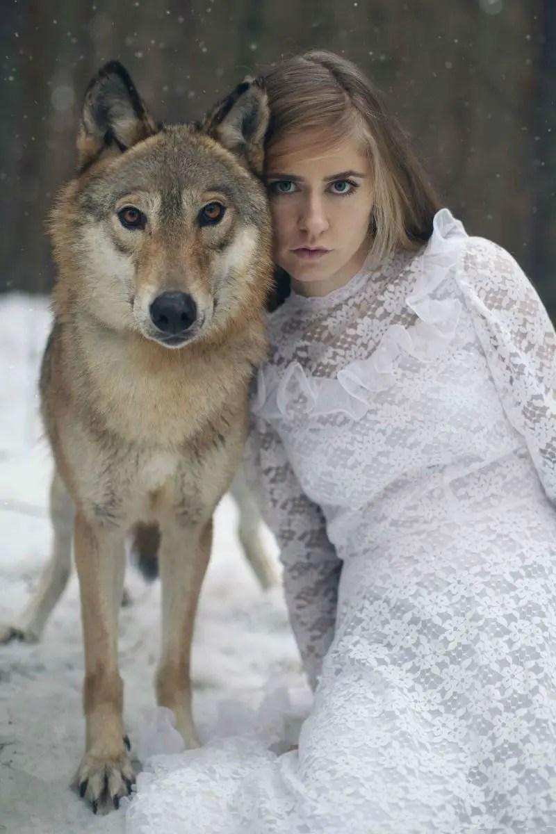 Beautiful Wedding Girl Wallpaper With Her Surreal Photography Katerina Plotnikova Creates A