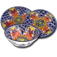 Talavera Earthenware Dinnerware Set - Southwest Indian ...