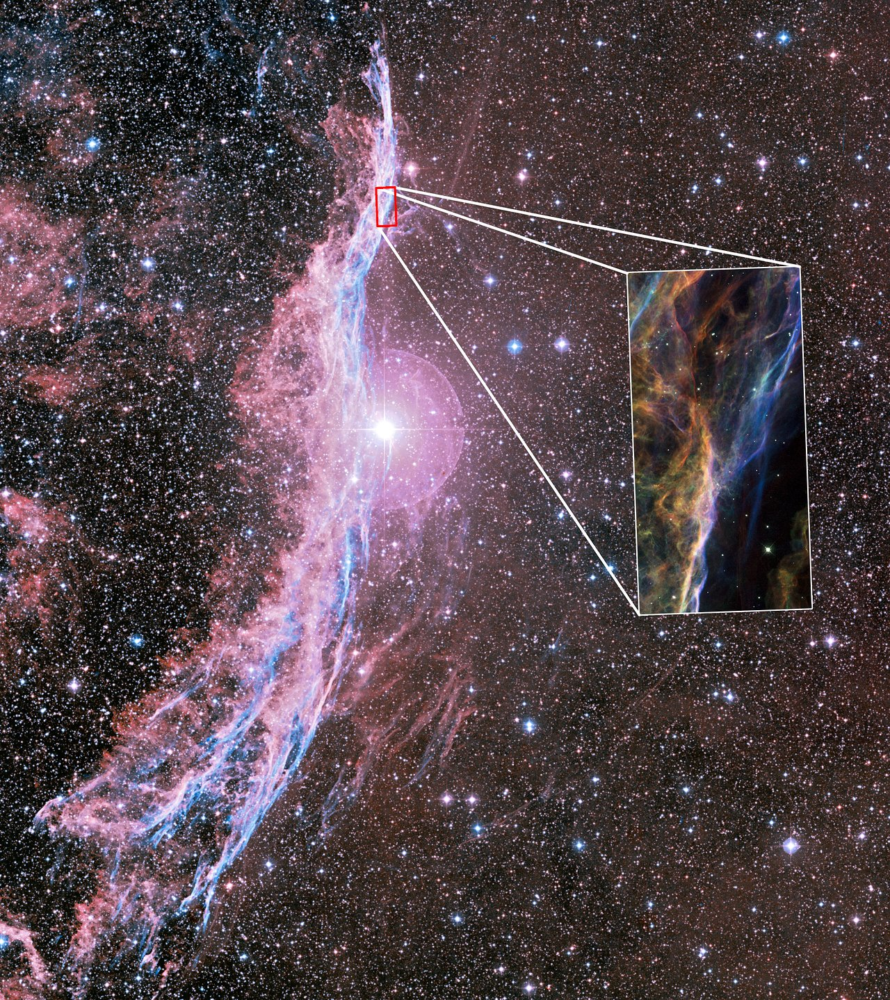 Solar System 3d Wallpaper Uncovering The Veil Nebula Esa Hubble