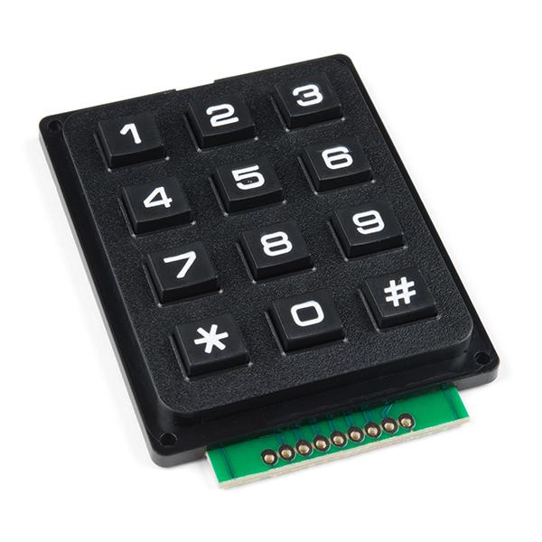 Keypad - 12 Button - COM-14662 - SparkFun Electronics