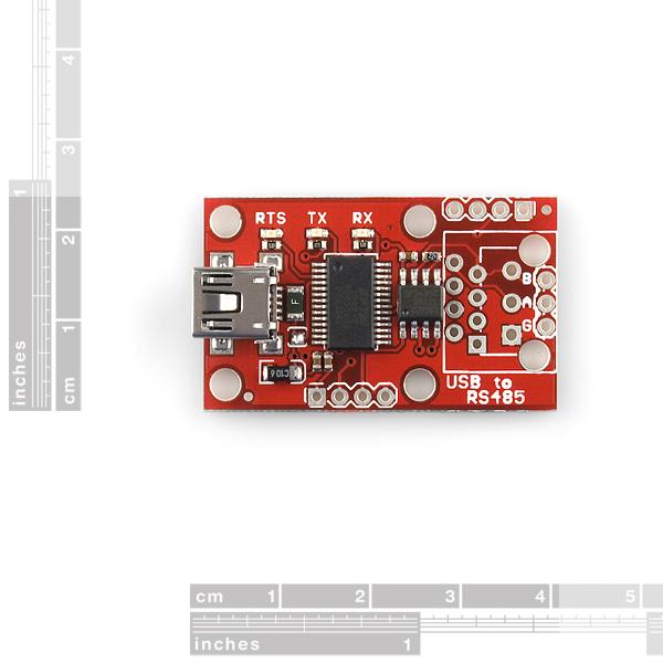 SparkFun USB to RS-485 Converter - BOB-09822 - SparkFun Electronics