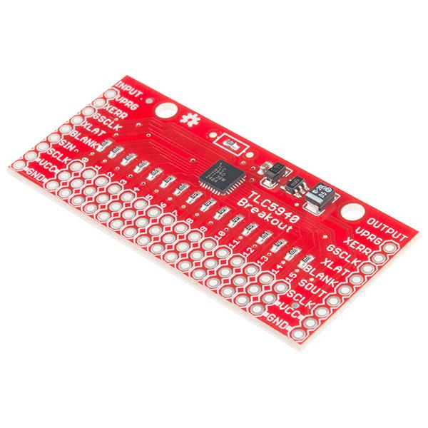 SparkFun LED Driver Breakout - TLC5940 (16 Channel) - BOB-10616