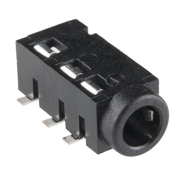 Audio Jack - 35mm TRRS (SMD) - PRT-12639 - SparkFun Electronics