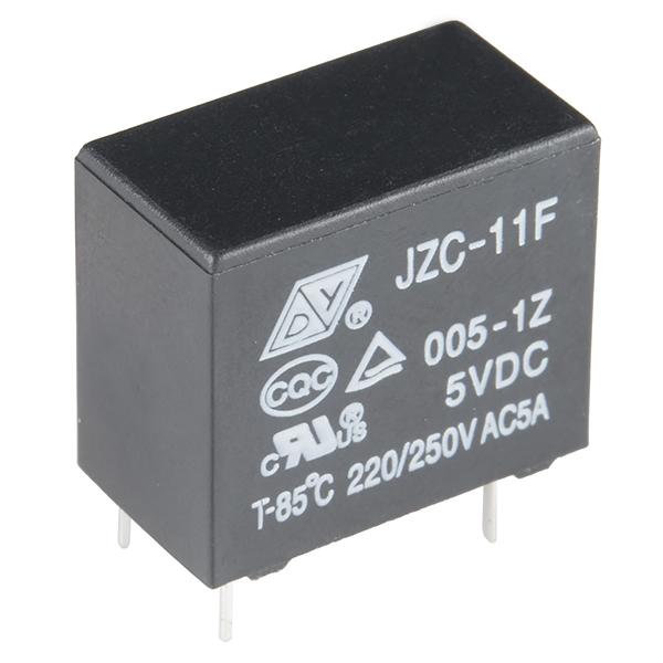 Relay SPDT Sealed - COM-00100 - SparkFun Electronics