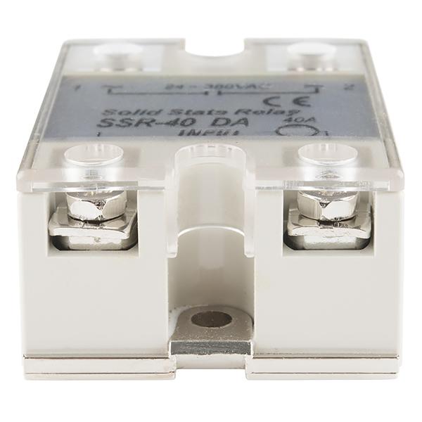 Solid State Relay - 40A (3-32V DC Input) - COM-13015 - SparkFun
