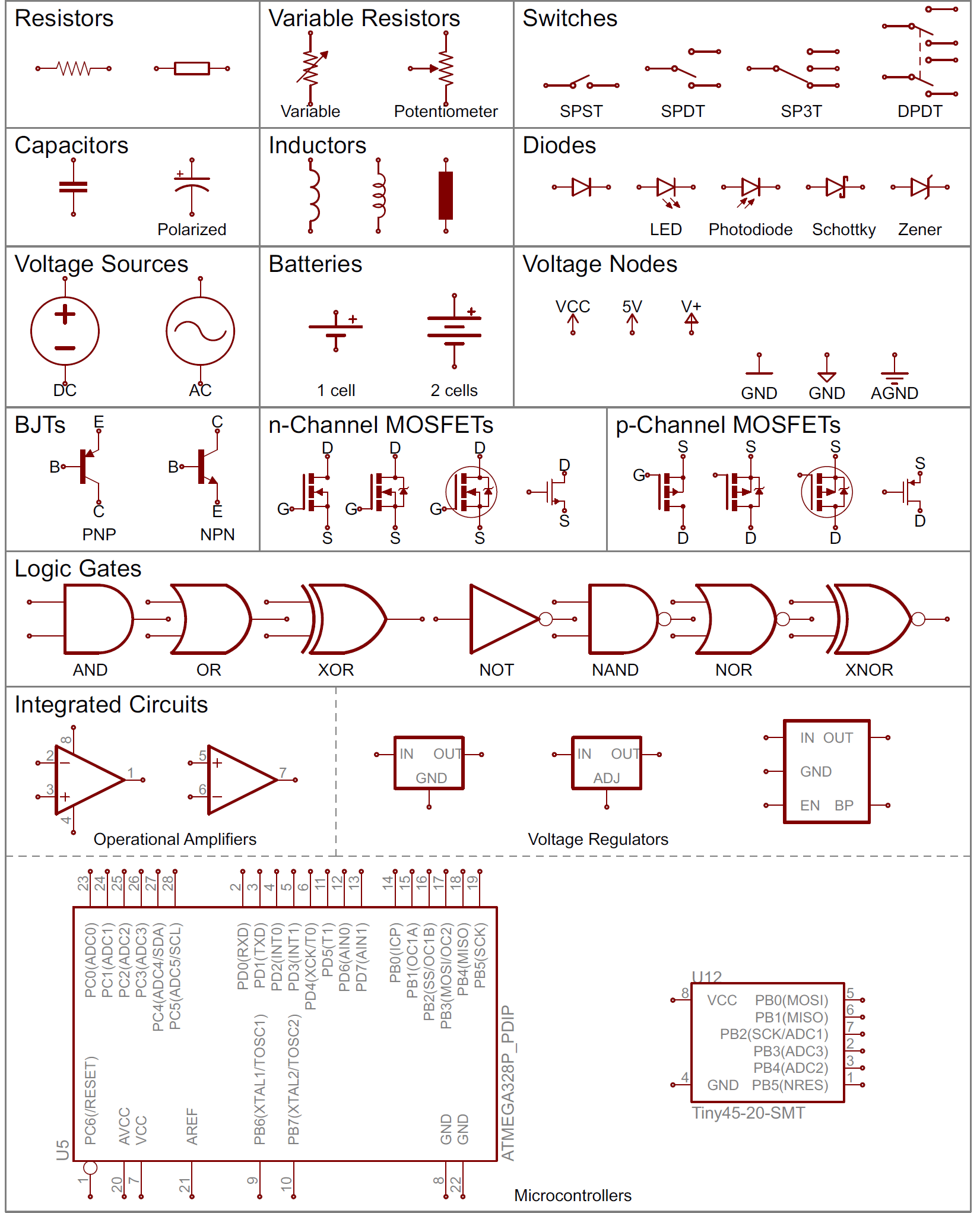 Speaker Symbol Circuit How To Read A Schematic Learn Sparkfun