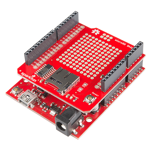 MicroSD Shield and SD Breakout Hookup Guide - learnsparkfun