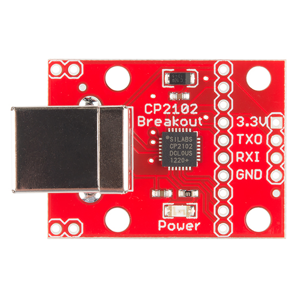 CP2102 USB to Serial Converter Hook-Up Guide - learnsparkfun