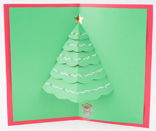 Let It Glow Holiday Cards - learnsparkfun