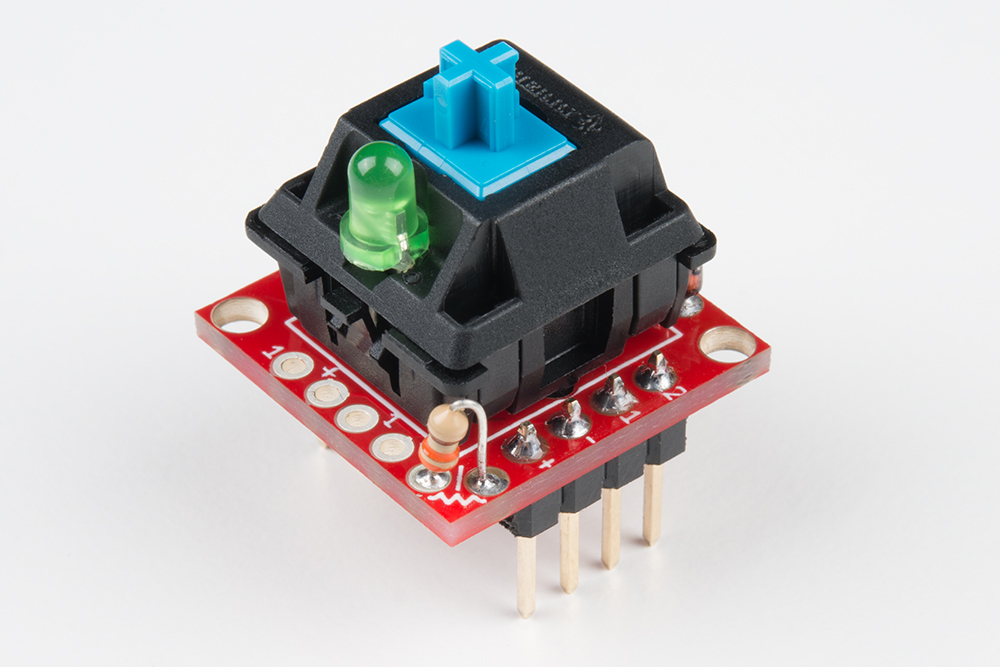 Cherry MX Switch Breakout Hookup Guide - learnsparkfun