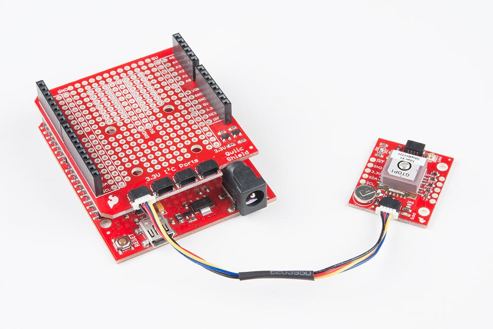 SparkFun GPS Breakout - XA1110 (Qwiic) Hookup Guide - learnsparkfun