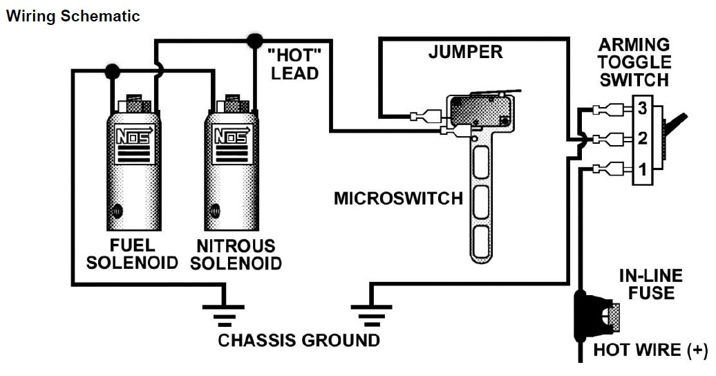 micro switch wiring diagram for nitrous