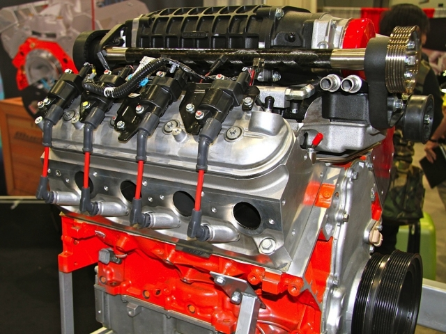SEMA 2013 BluePrint Engines Offers Supercharged 427 LS Crate Motor - copy blueprint engines how to