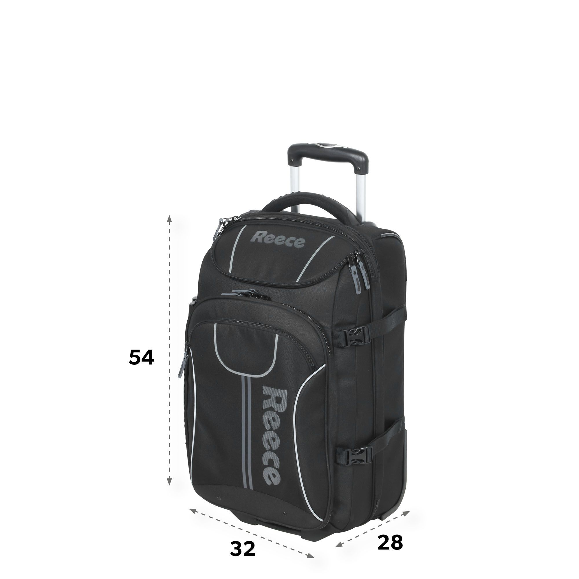 Reece Trolley Tasche Groß Hockeydirekt Trolley Bag Medium 885805 8000 No Sz Zwart Reeceaustralia